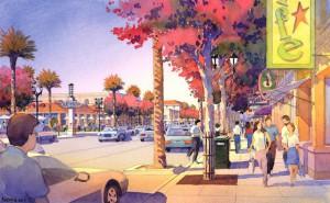 Whittier Boulevard Artist's rendering